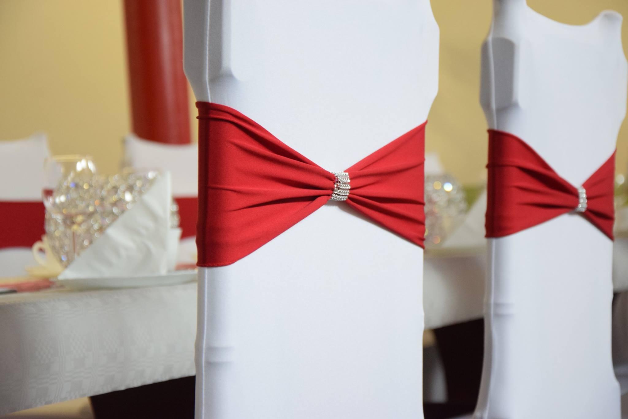 Organza Stuhlschleifen Stuhlbänder für Stuhlhussen Stuhl Schleifen Hochzeit