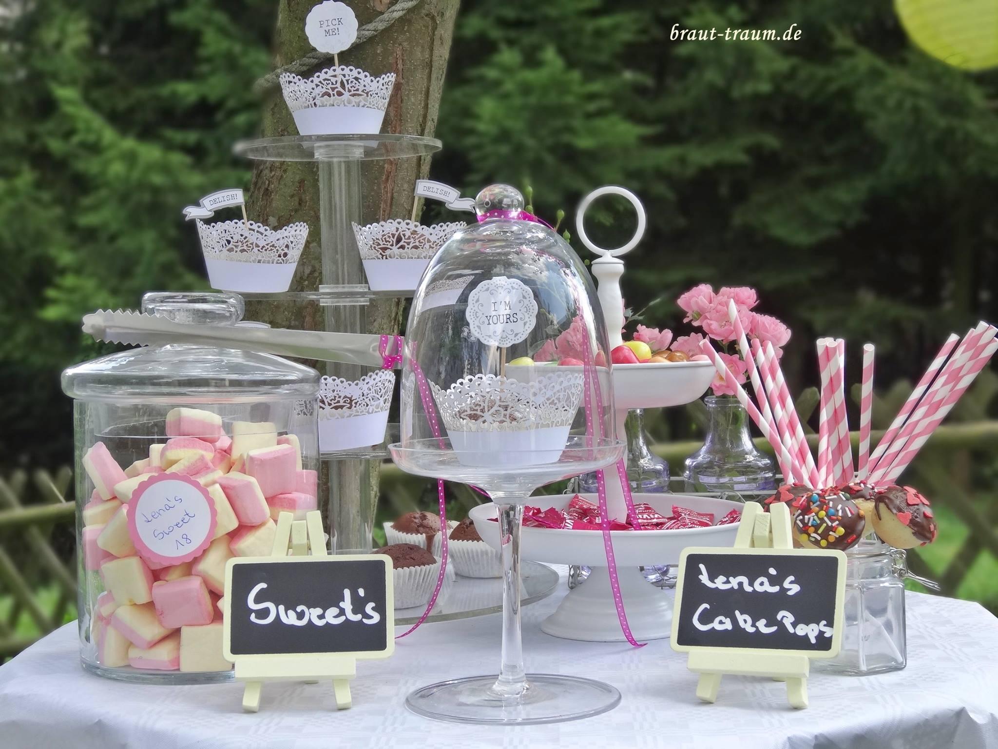 Candybar Ausleihen Donutwall Meten Cupcake Tisch Hochzeit