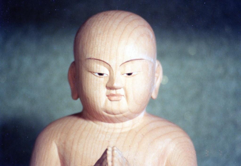 作 ・ 木 下 聖 峰  「聖徳太子 二歳像」