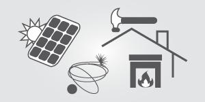 Spenglerei, Dachdecker, Sonnenkollektoren, Fotovoltaik, Ofenbau, Cheminéebau, Kaminfeger