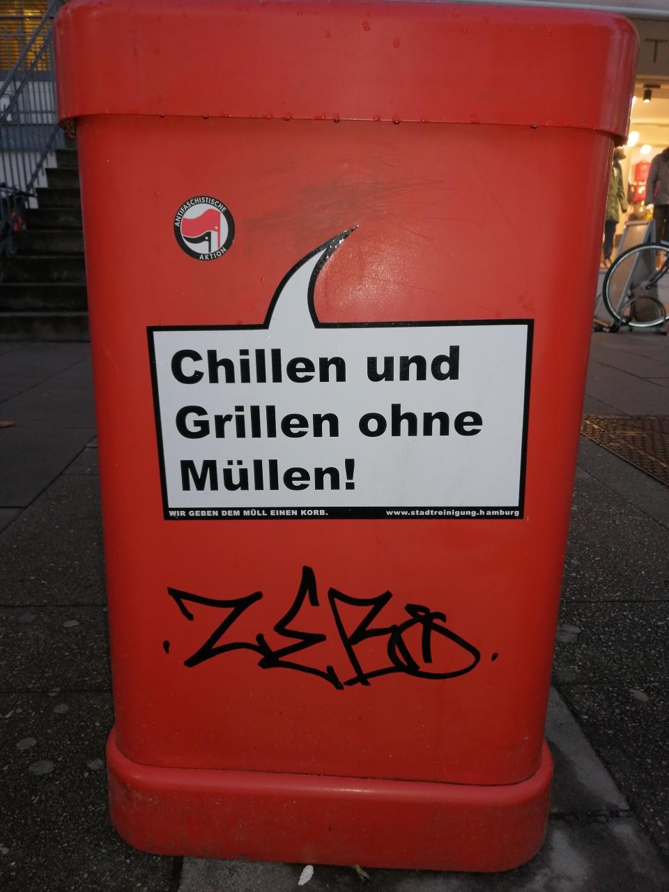 Hamburgs Grünflächen treten für ihre Ansprüche ein