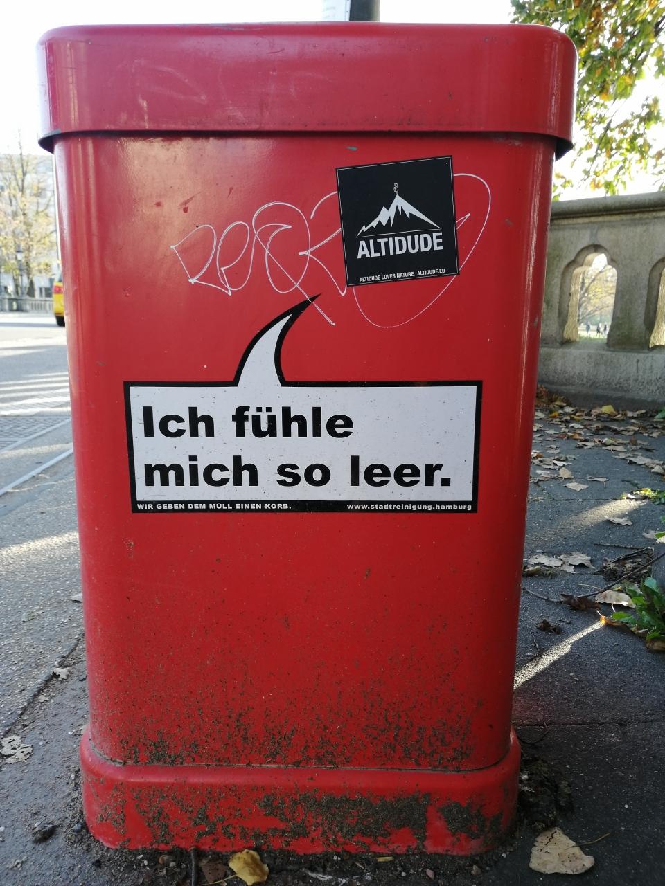Hamburg steht offen zu seinen Gefühlen