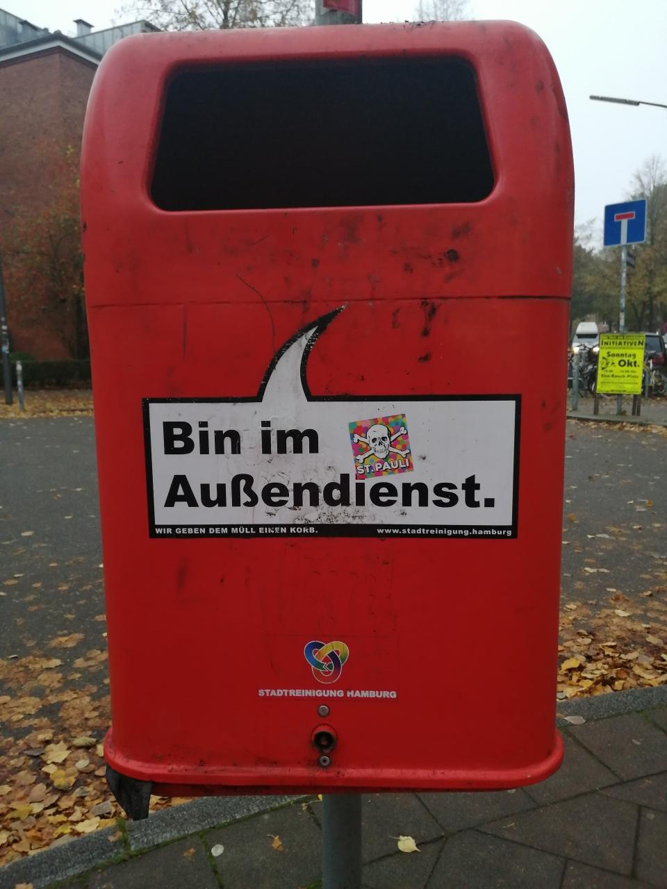 In Hamburg ist man gern an der frischen Luft