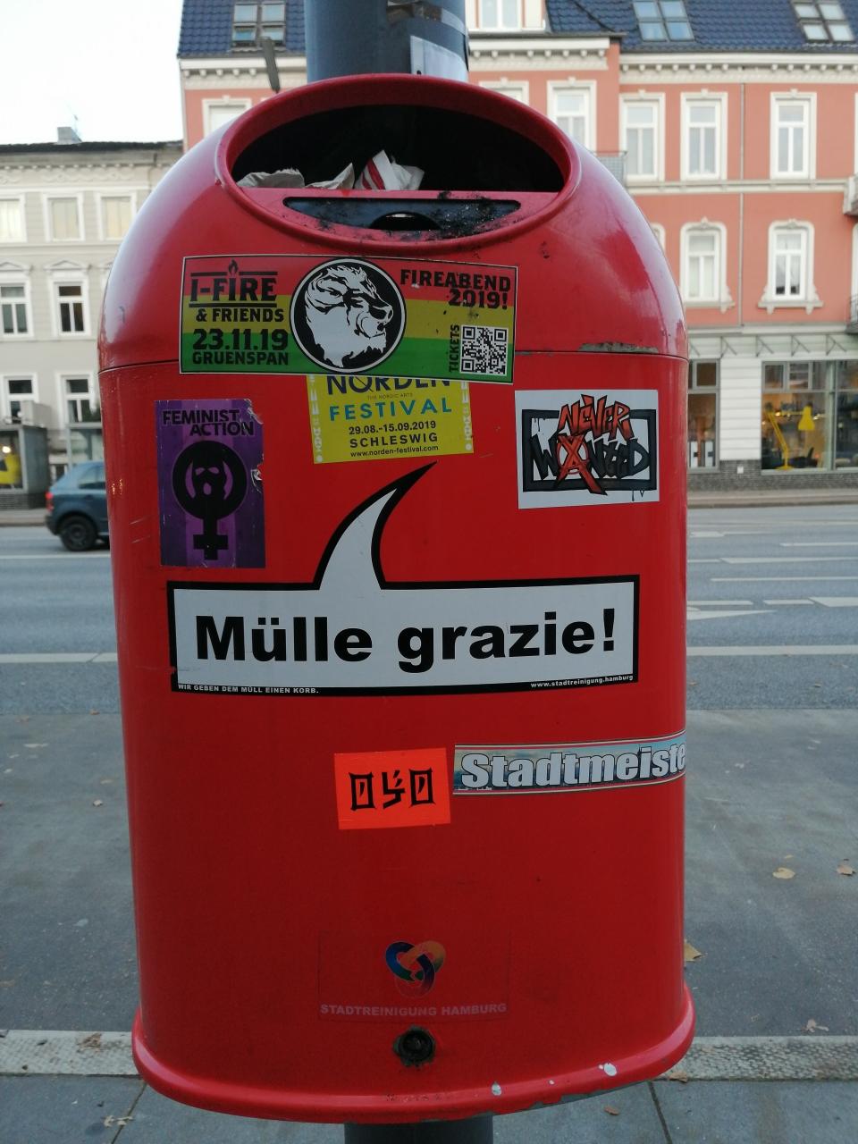 In Hamburg spricht man viele Sprachen