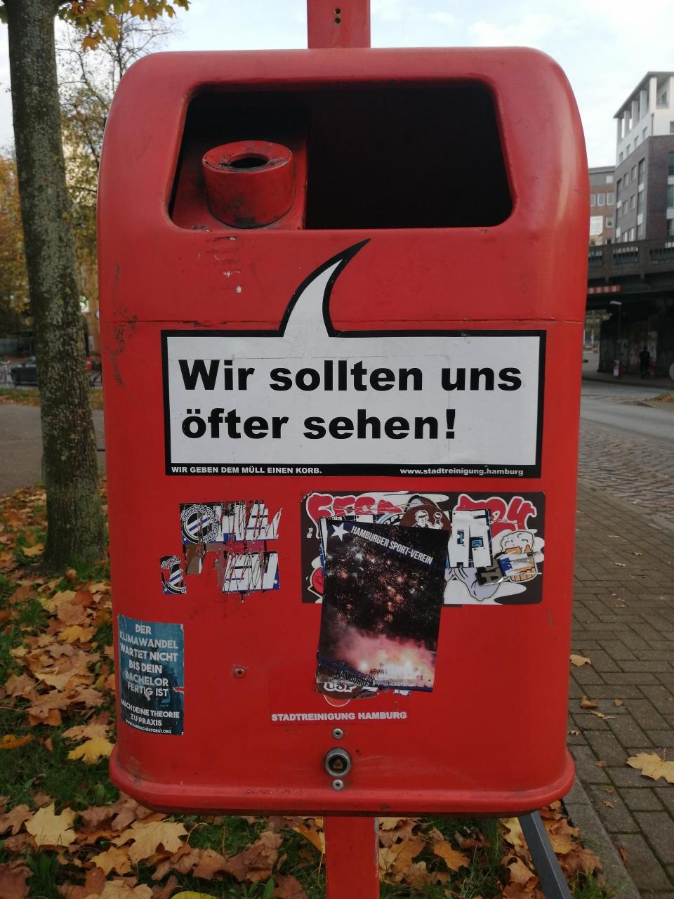 Hamburg ist freundlich