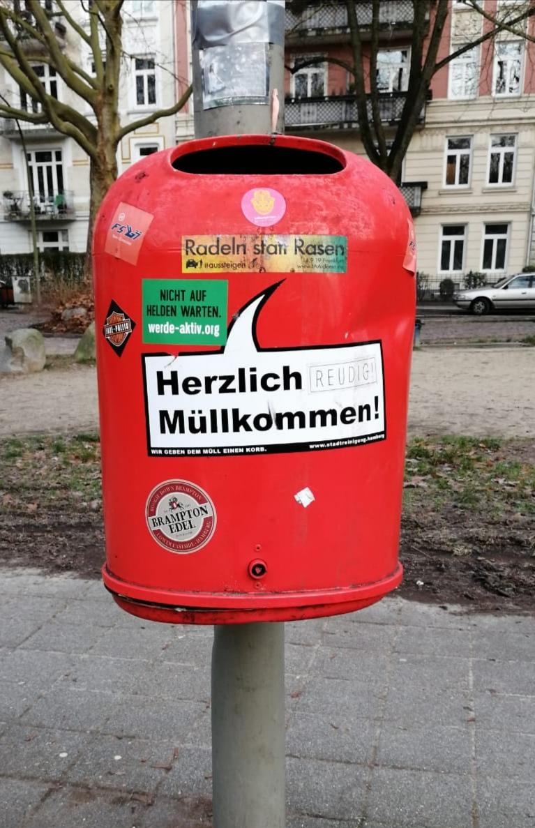 In Hamburg wird jeder freundlich begrüßt