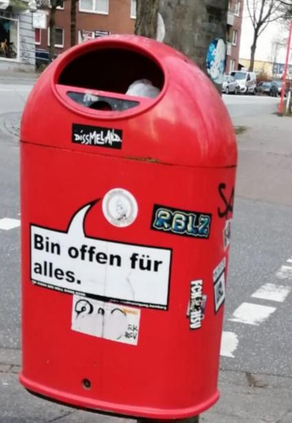 Weltoffenheit reicht in Hamburg bis ins kleinste Detail