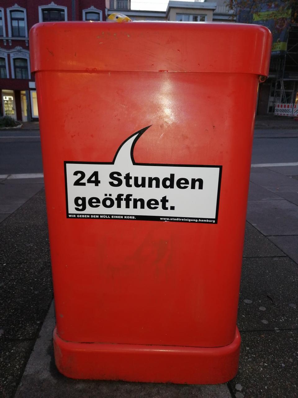 Hamburg nimmt es ernst mit 24/7