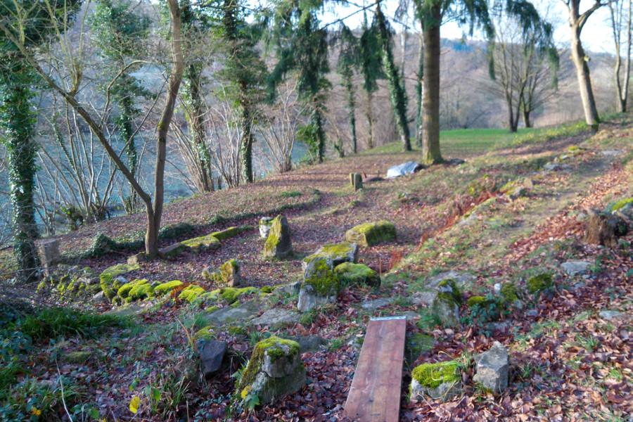 Garten (Winter)