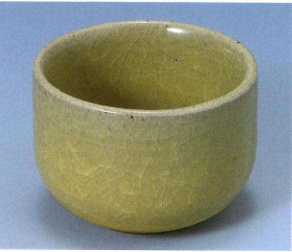 59.淡黄釉 還元・酸化/1,230〜1,300℃