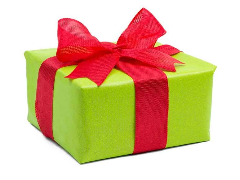 Geschenke und Gutscheine
