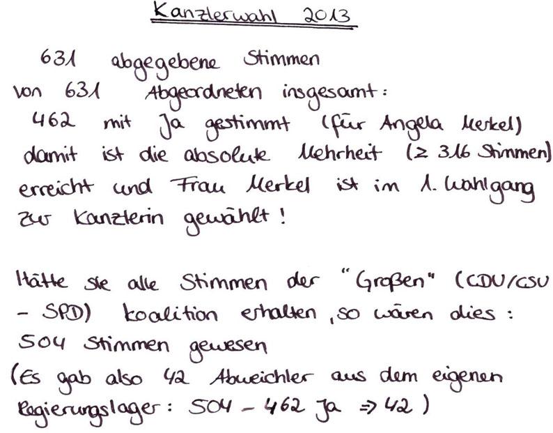 kanzlerwahlen deutschland
