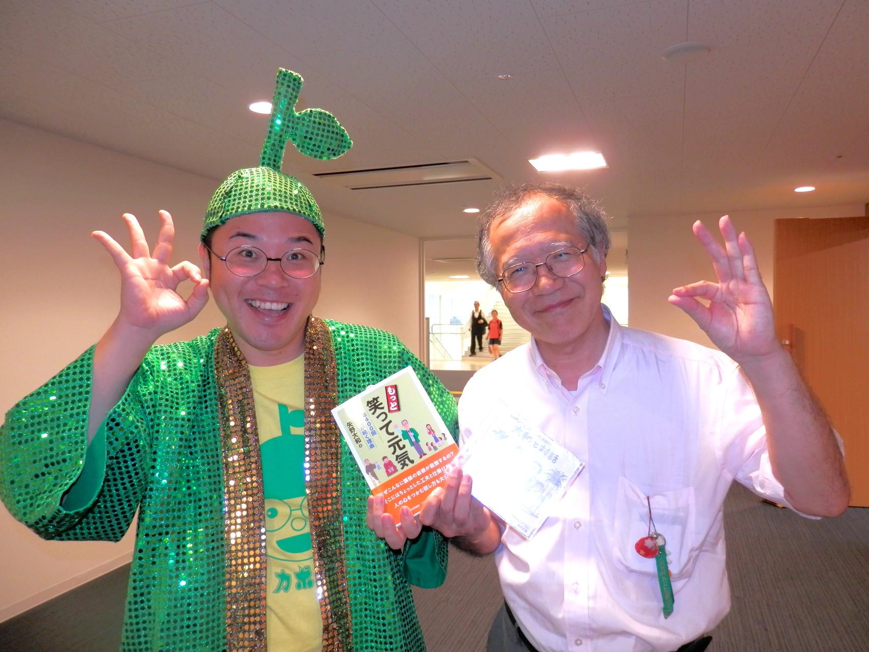 矢野大和さんと楽々ご縁日イベントにて