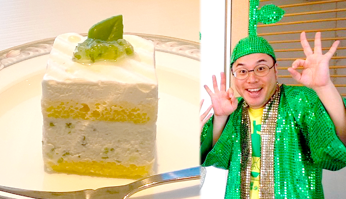 【かぼすショートケーキ】大分ローカルタレントの甘いひと時