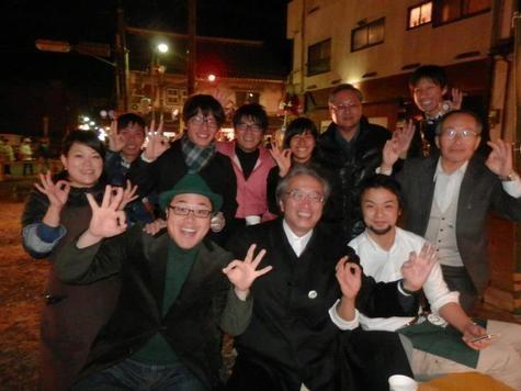 大分県竹田市の秋の風物詩「竹楽」にて、首藤市長とみなさんとカボッス!