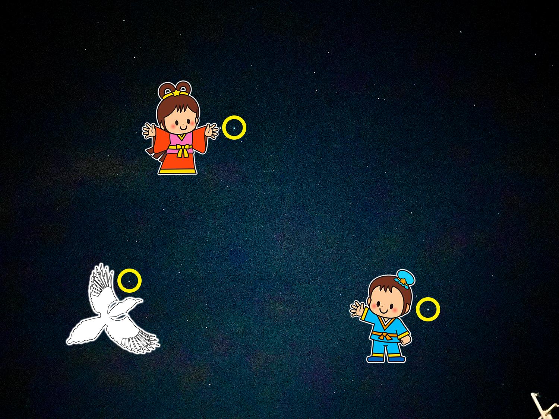 【大分県の夜空を観察】七夕に彦星&織姫星を見た