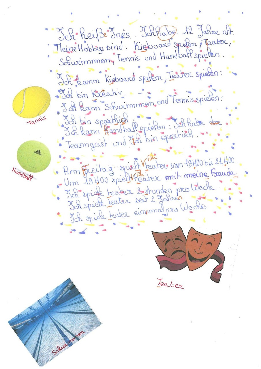 Levrel Ines, 5eme 1