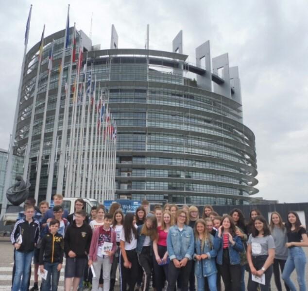 Journée à Strasbourg: visite du parlement européen.