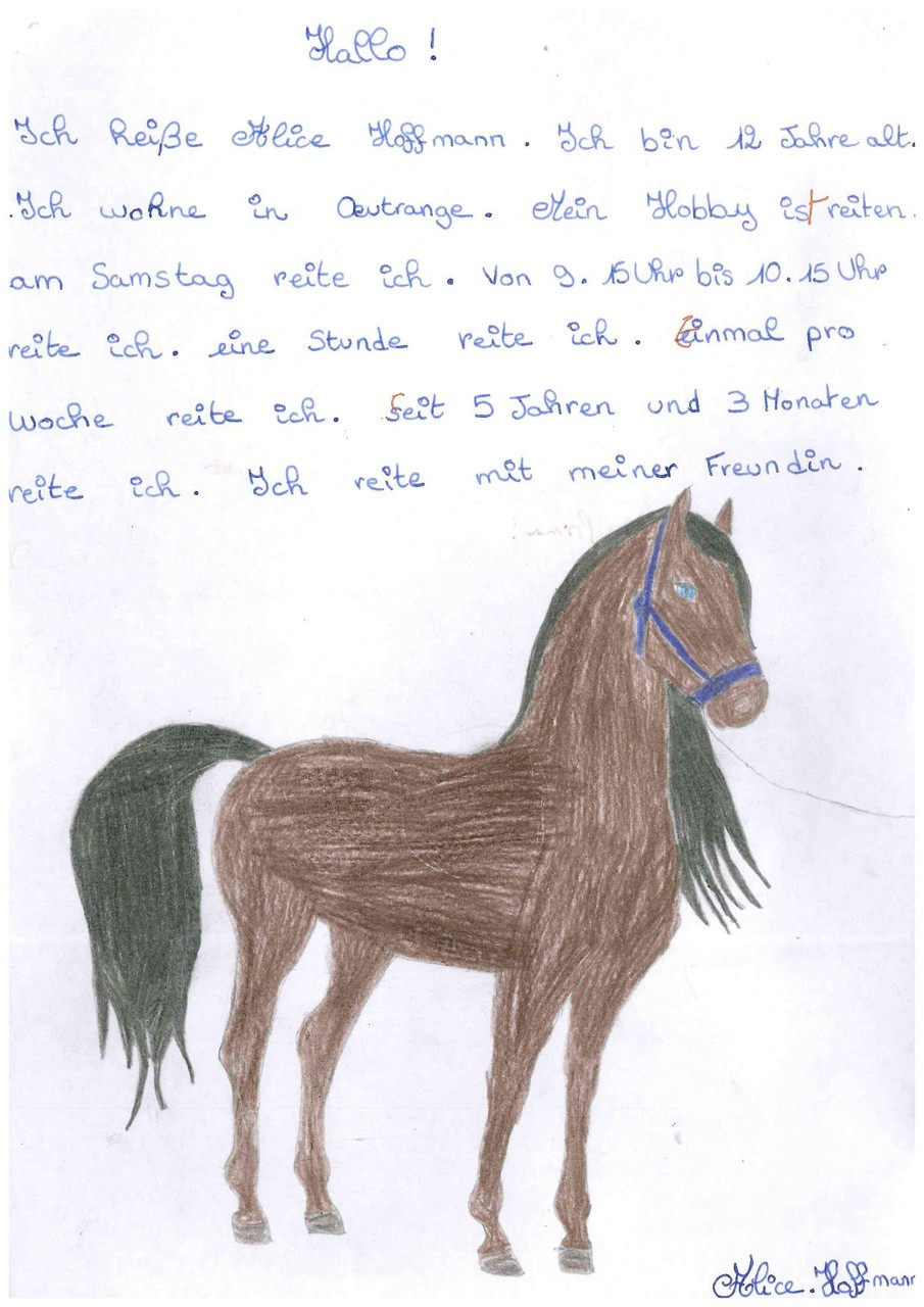 Hoffmann Alice , 5eme 2
