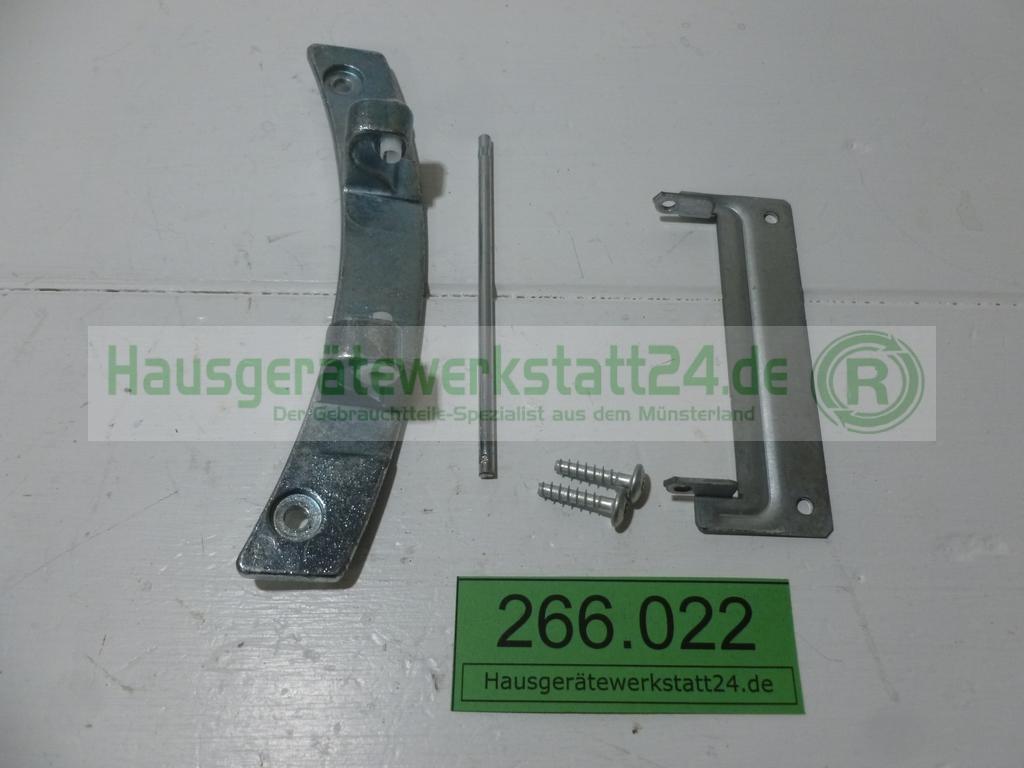 Aeg lavatherm trockner metall türscharnier 13662531 zp5uni12844 aeg
