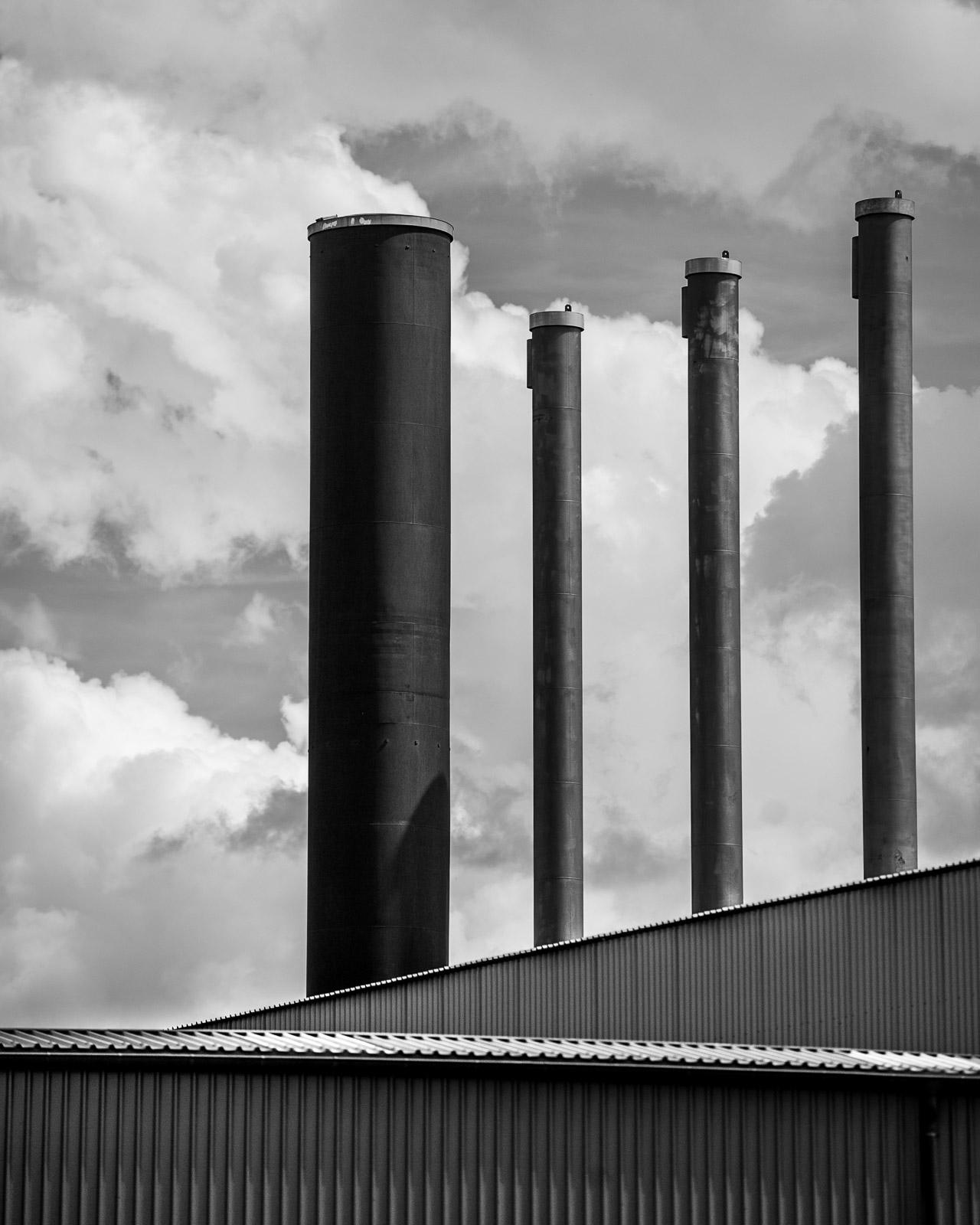 Smoke stacks, Berlin