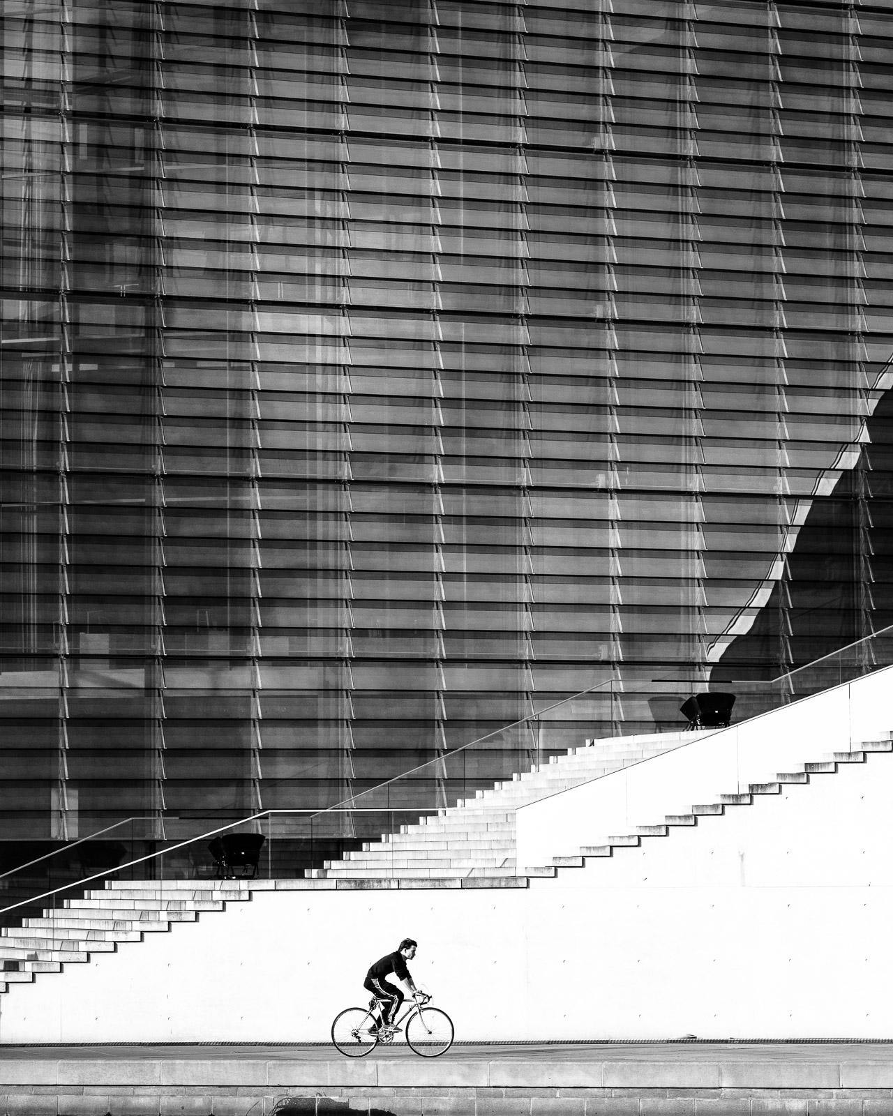 Cyclist, Berlin