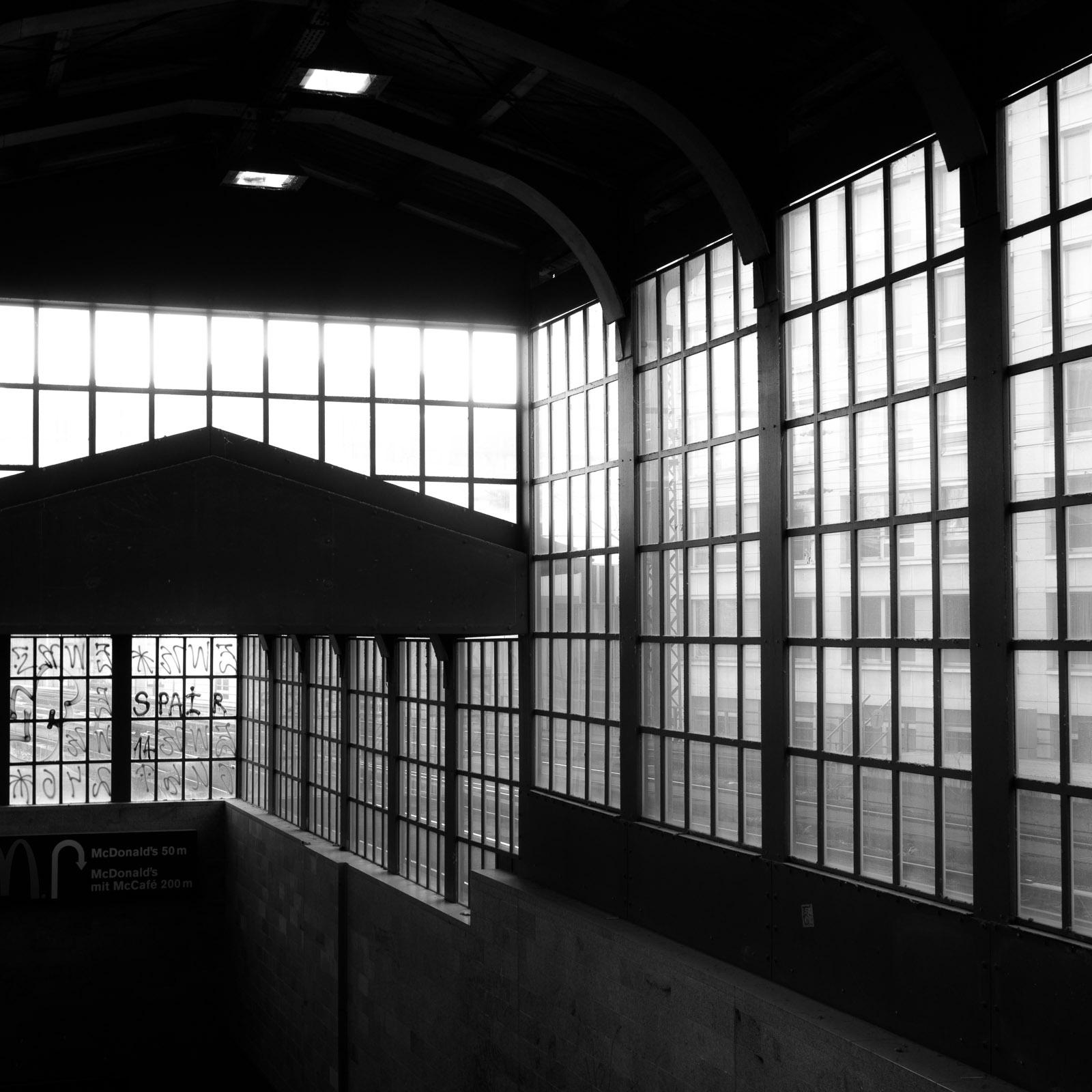 Access to railway platform, Berlin