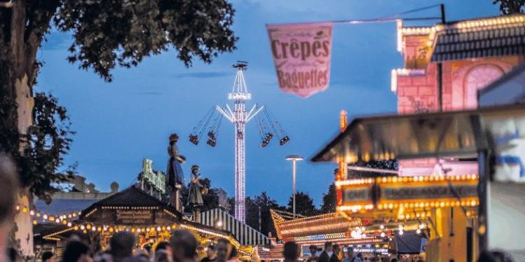 Brezelfest Speyer - das größte Volksfest am Oberrhein