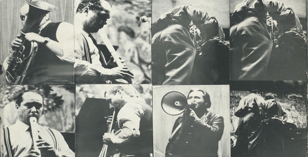Selten Gehörte Musik with Dieter Roth, Gerhard Rühm, Oswald Wiener, Münchner Konzert Mai 1974 1975