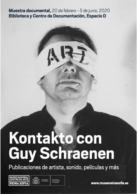 Exhibition Kontakt with Guy Schraenen, Museo Reina Sofia, curator: Maike Aden
