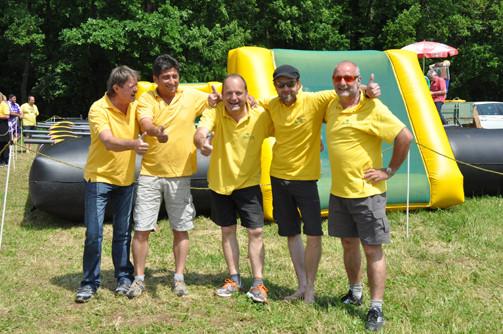 Team bestehend aus: Hametner Karl, Wottawa Bernhard, Fixl Herbert, Netzel René, Pöchlauer Josef