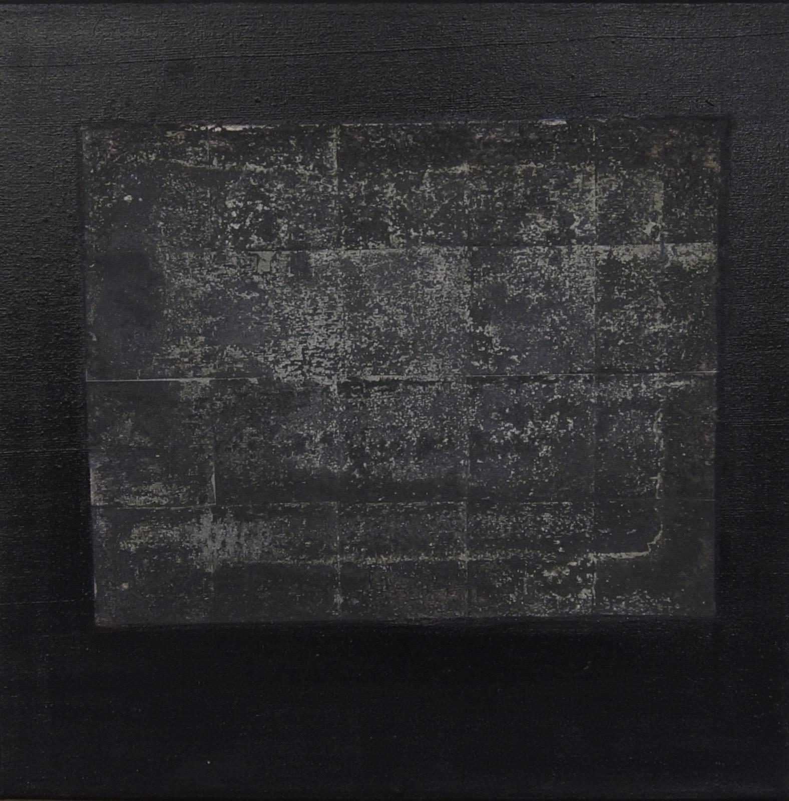 Schwarzes Quadrat ( 60cm x 60cm )