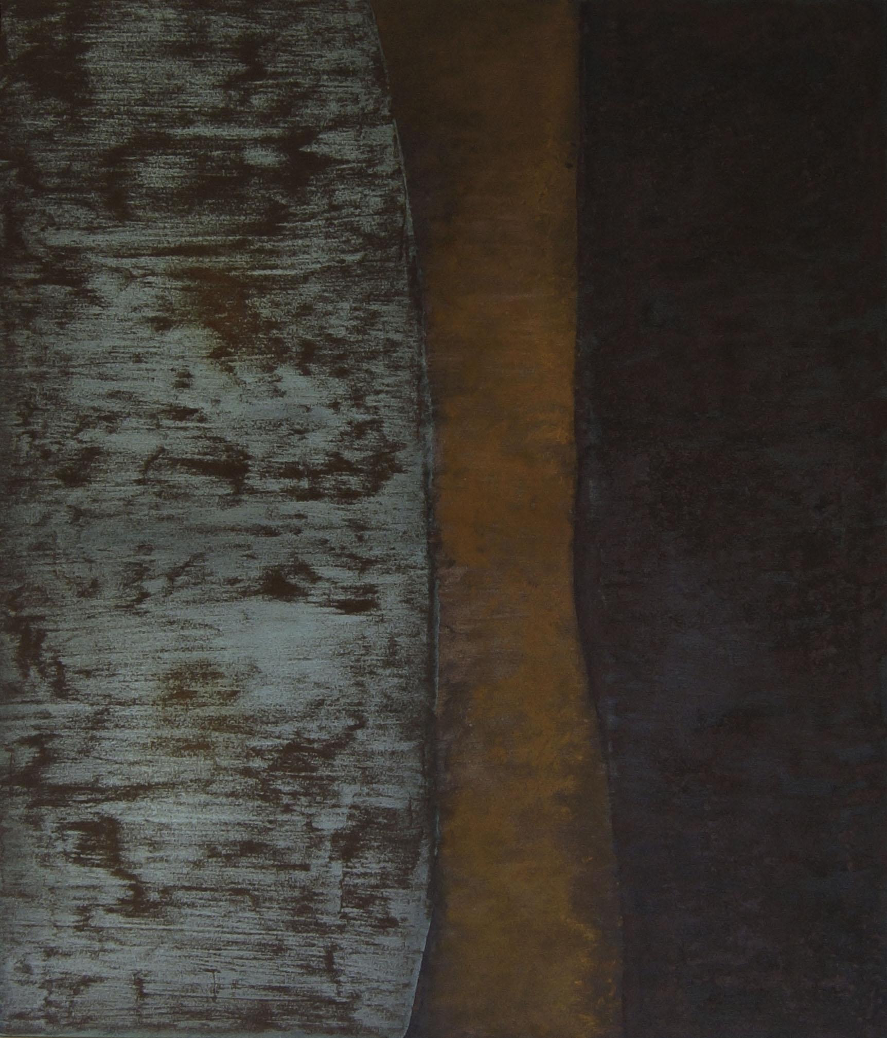 Grüner Menhir ( 150cm x 180cm )