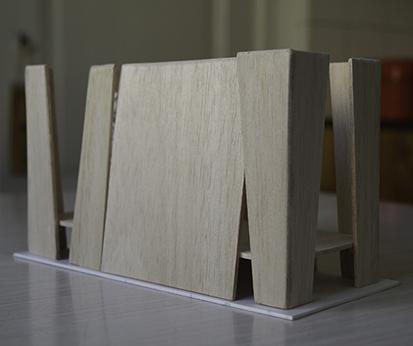 Modell Gartenzimmer 4 ©Bernd Aury