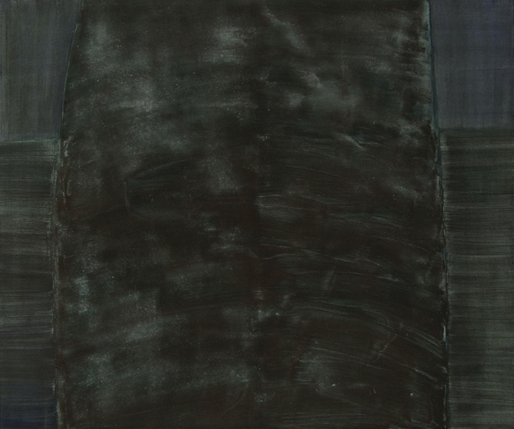 Grüner Menhir ( 180cm x 155cm )