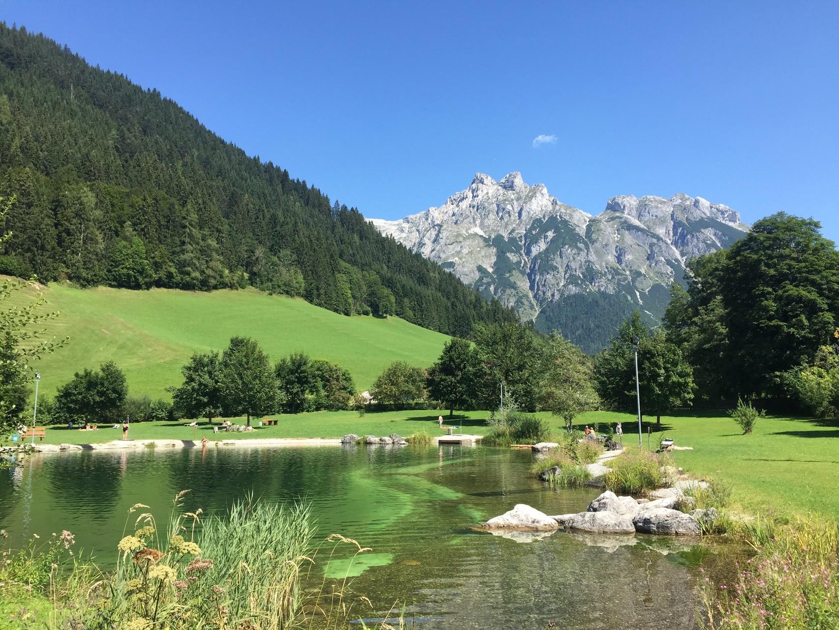 Badesee & Freizeitpark Werfenweng