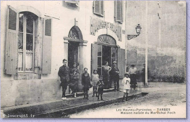 vue de la maison du Maréchal Foch à Tarbes