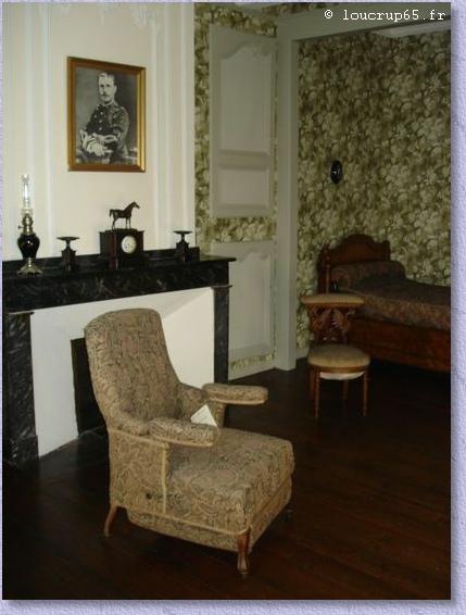le fauteuil où Foch est décédé