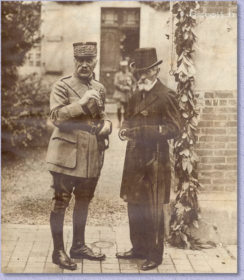 Foch et son frère