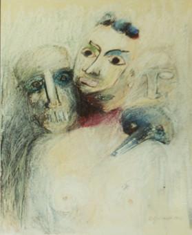 Ryszard Grodnicki Zeichnung II