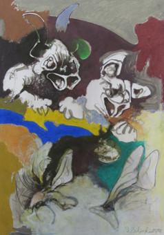 Tomasz Zielinski Zeichnung VI