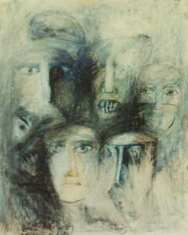 Ryszard Grodnicki Zeichnung IV