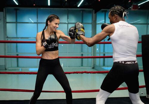 40代女性ボクシング