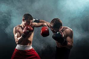 ボクシングのカウンター