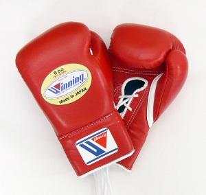 ボクシンググローブの手入れ