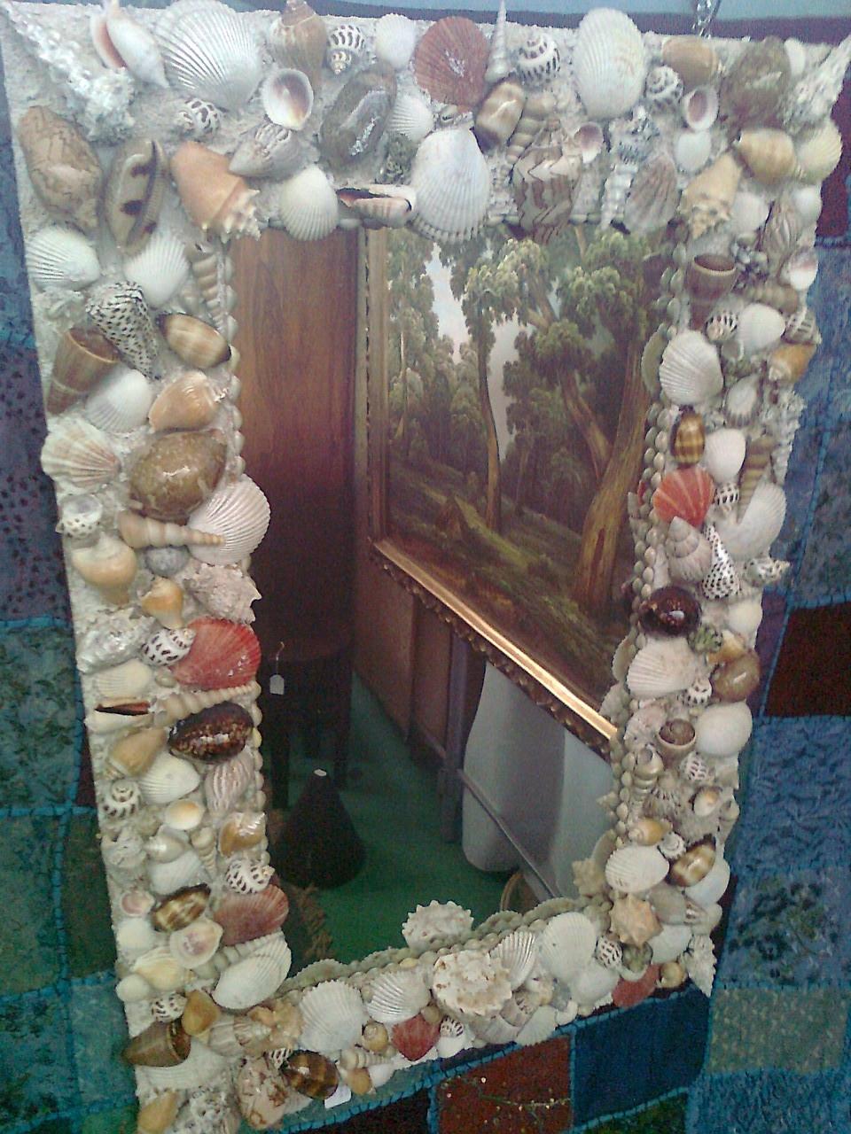 Specchi 1 2 euroitalia - Specchio con conchiglie ...
