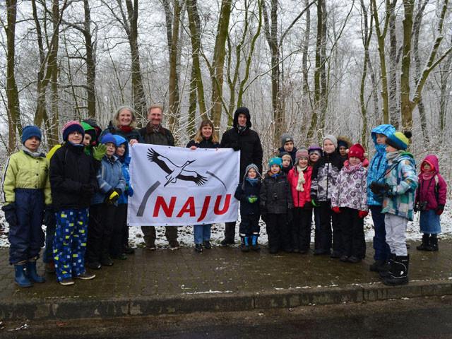Gruppenbild: Gründung der neuen NAJU Gruppe in Wolfenbüttel