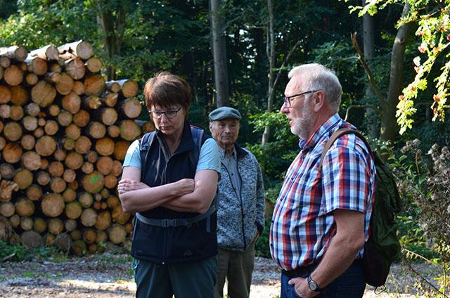 Heimatpfleger Helmut Maibom berichtet von der Vergangenheit