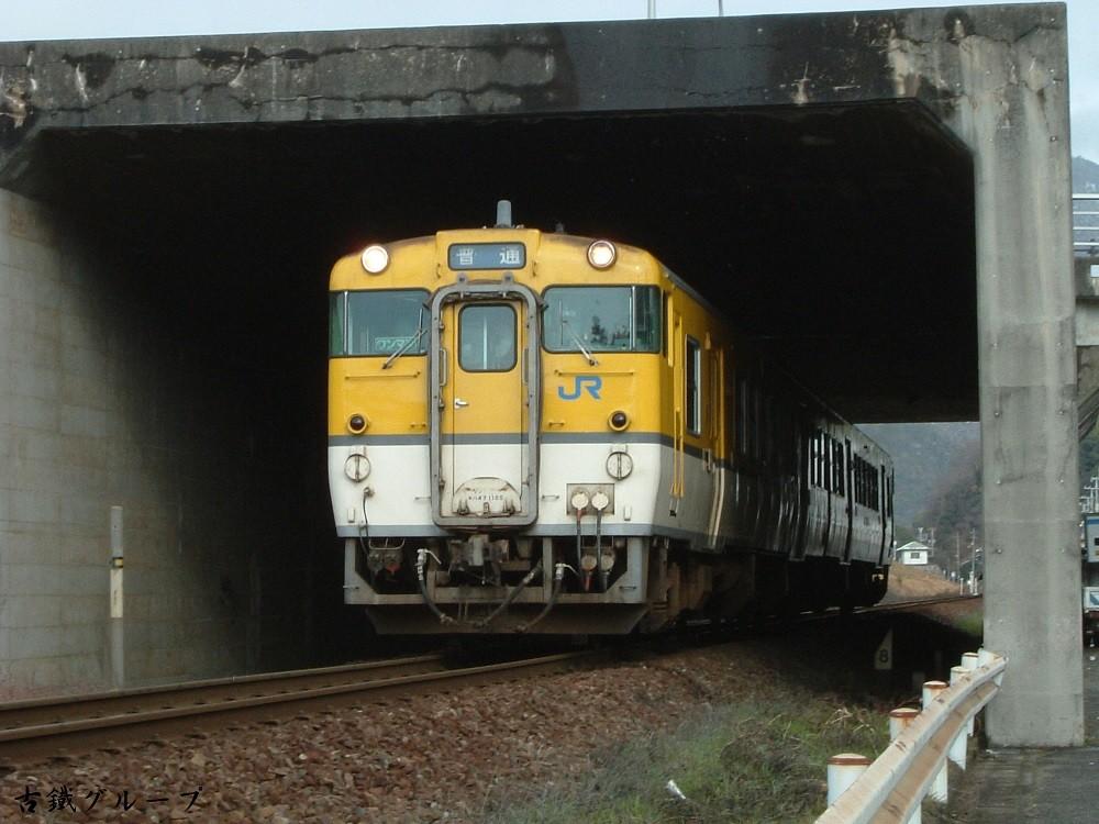 キハ47 1100(2007年12月)