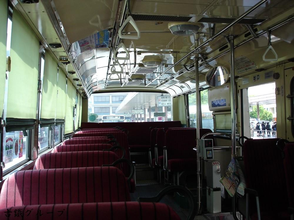 広島 22 く 31-25 車内(2011年8月)